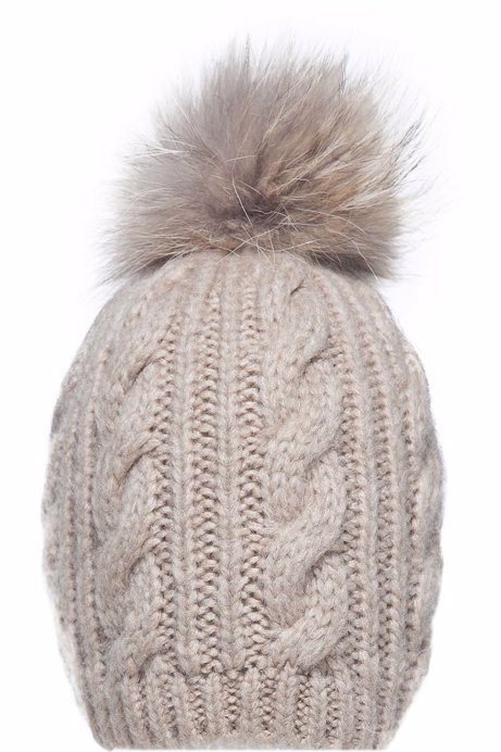 Picture of Fur Pom Pom Beanie