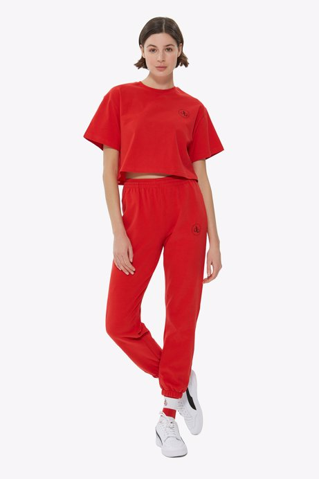 Picture of Red Basic Sweatpants