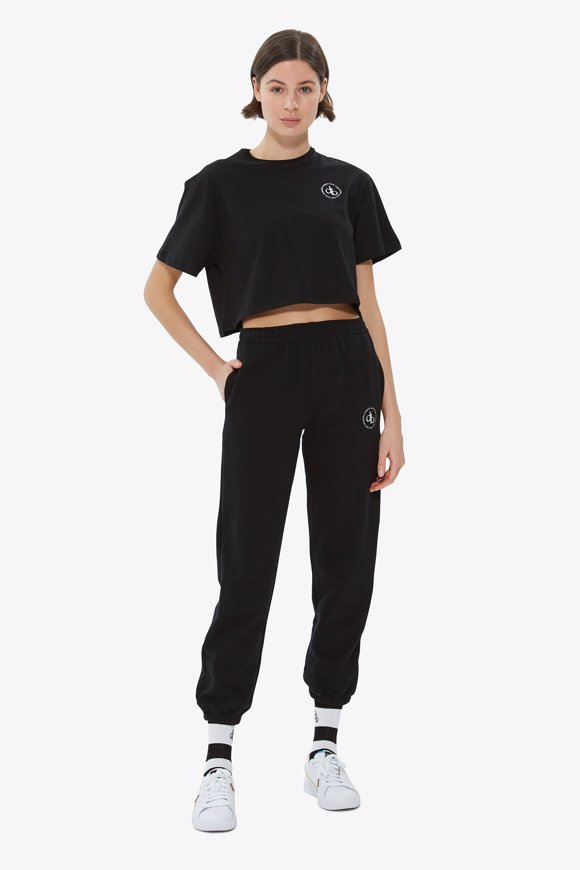 Picture of Black Basic Sweatpants