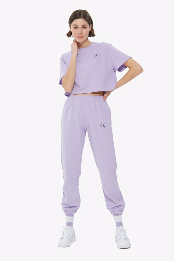 Picture of Lilac Basic Sweatpants