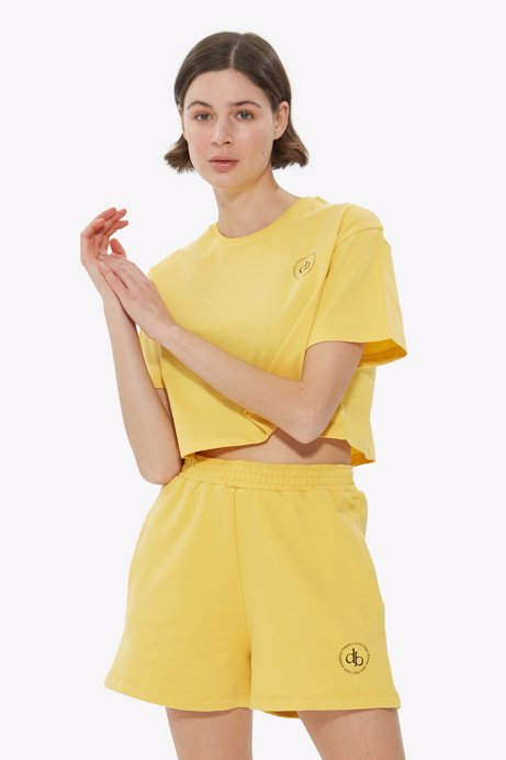 Picture of Yellow Basic Short