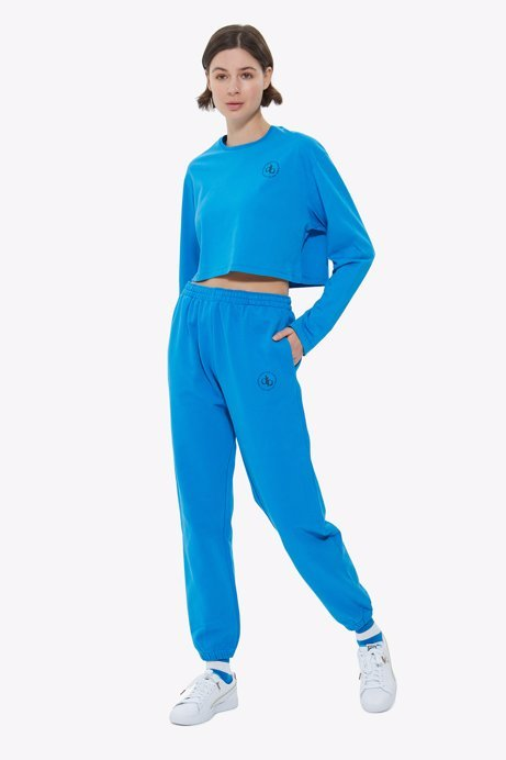 Picture of Blue Basic Sweatpants