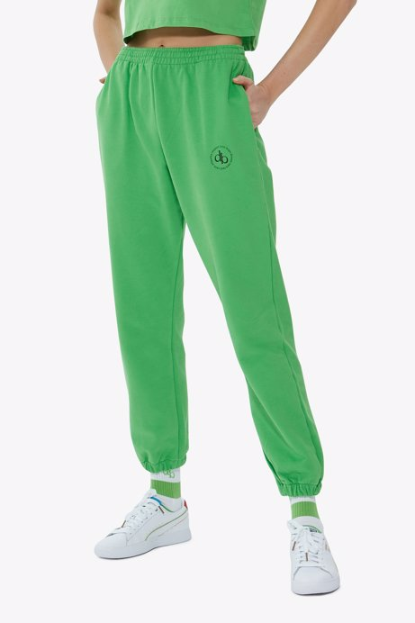 Picture of Green Basic Sweatpants