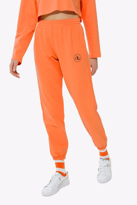 Picture of Orange Basic Sweatpants