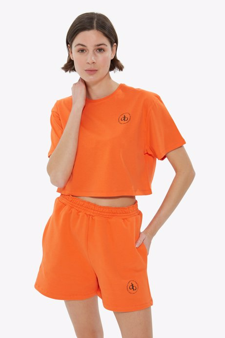 Picture of Orange Basic Short