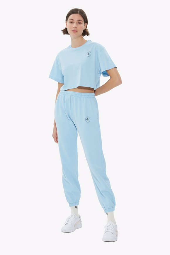 Picture of Baby Blue Basic Sweatpants