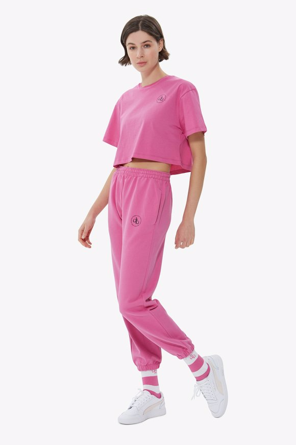 Picture of Pink Basic Sweatpants