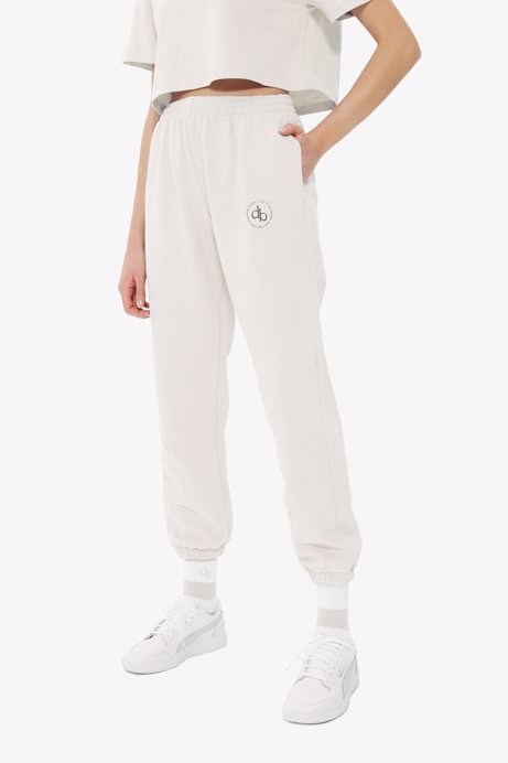 Picture of White Basic Sweatpants